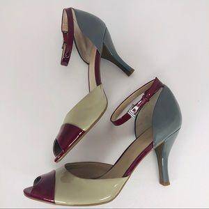 Franco Sarto Peep Toe Pumps